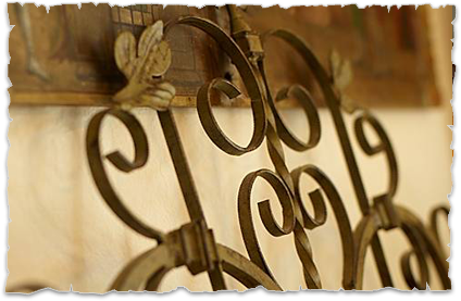 Wrought Iron decoration